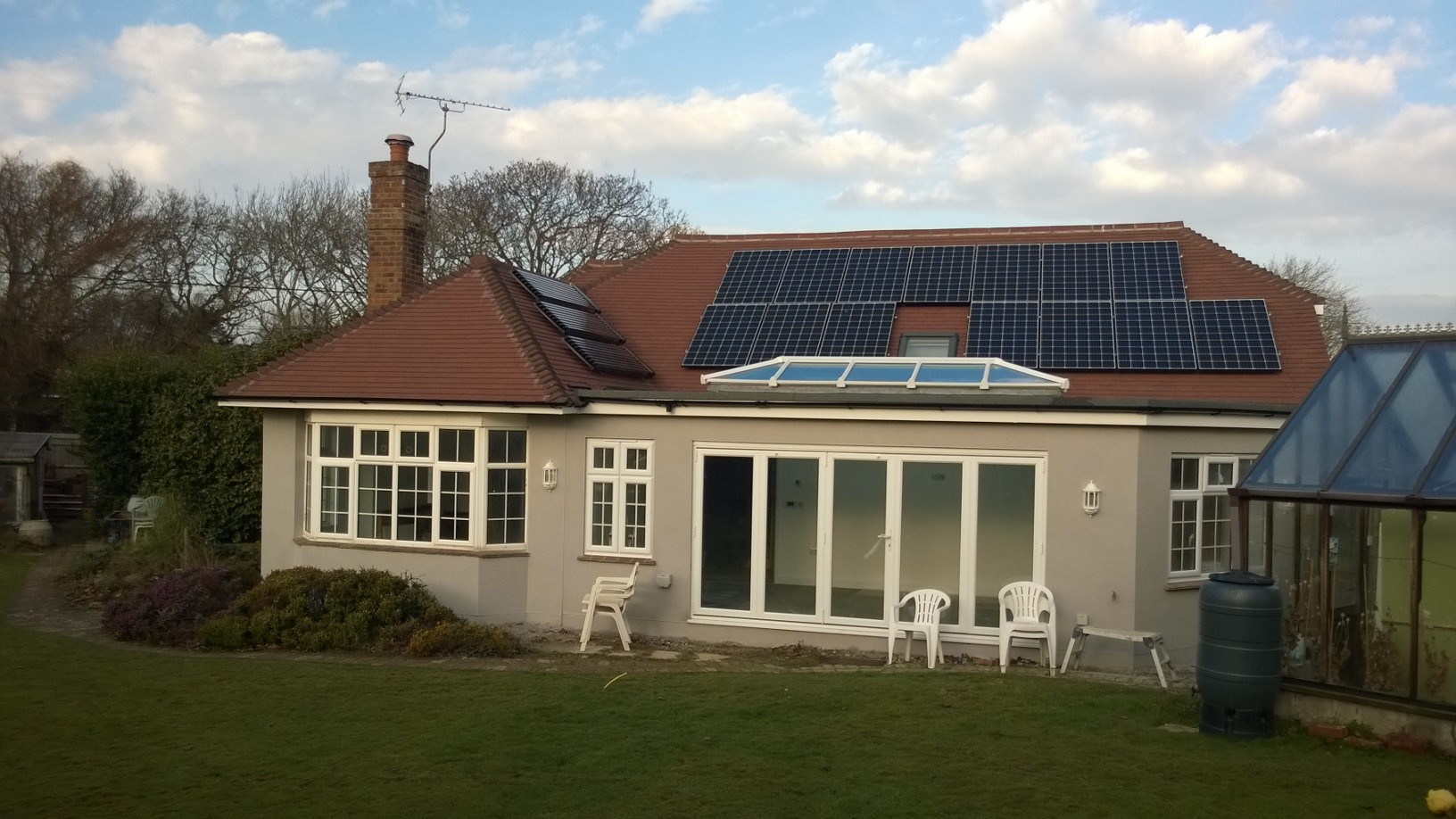 A Full Solar Installation in East Sussex